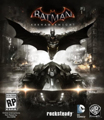 Capa de Batman: Arkham Knight