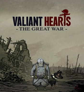 Capa de Valiant Hearts: The Great War