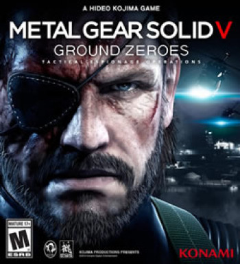 Capa de Metal Gear Solid V: Ground Zeroes