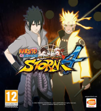 Capa de Naruto Shippuden: Ultimate Ninja Storm 4