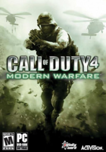 Capa de Call of Duty 4: Modern Warfare