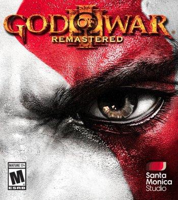 Capa de God of War III Remastered