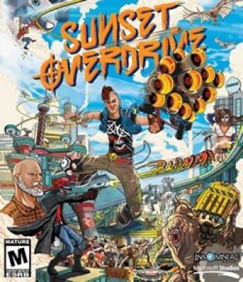 Capa de Sunset Overdrive