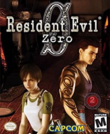 Capa de Resident Evil Zero