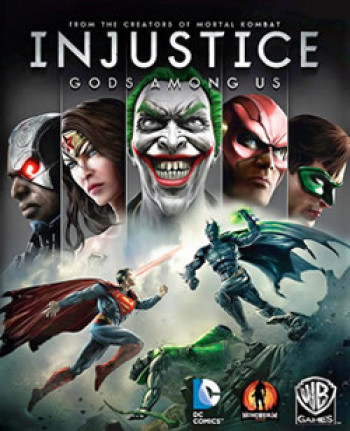 Capa de Injustice: Gods Among Us