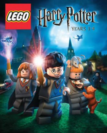 Capa de LEGO Harry Potter: Years 1-4
