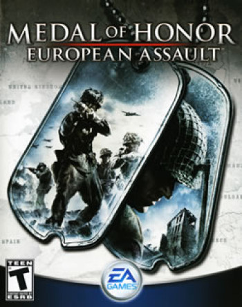 Capa de Medal of Honor: European Assault