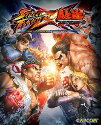 Capa de Street Fighter x Tekken