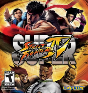 Capa de Super Street Fighter IV