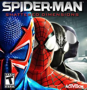 Capa de Spider-Man: Shattered Dimensions