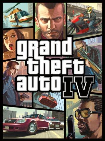 Capa de Grand Theft Auto IV