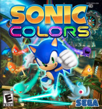 Capa de Sonic Colors