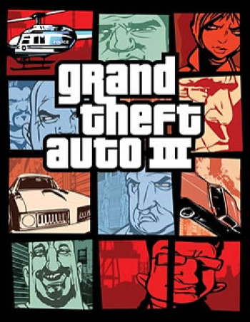 Capa de Grand Theft Auto III
