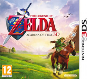 Capa de The Legend of Zelda: Ocarina of Time 3D