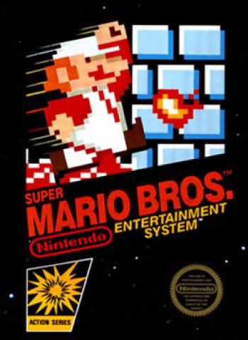 Capa de Super Mario Bros.