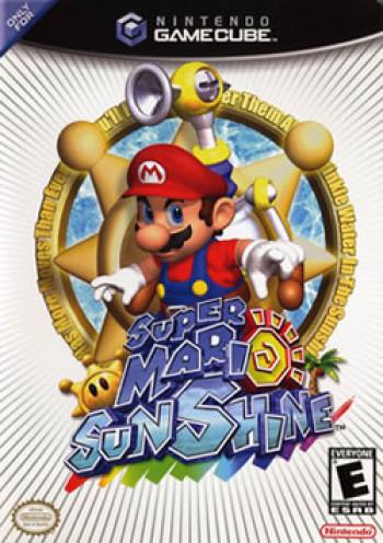Capa de Super Mario Sunshine