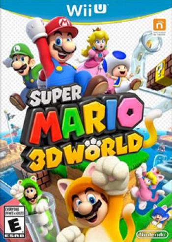 Capa de Super Mario 3D World