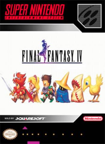 Capa de Final Fantasy IV