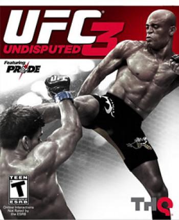 Capa de UFC Undisputed 3