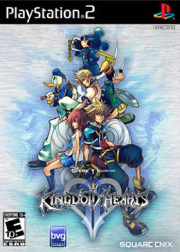 Capa de Kingdom Hearts II