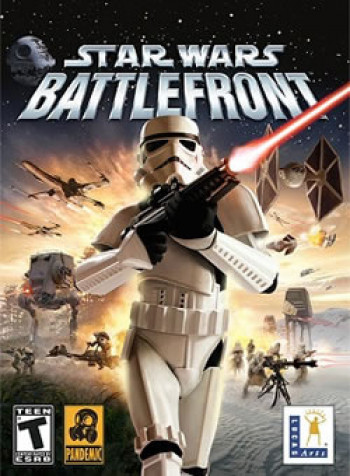 Capa de Star Wars Battlefront (2004)
