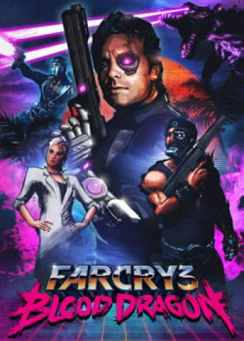 Capa de Far Cry 3: Blood Dragon