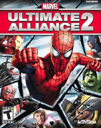 Capa de Marvel: Ultimate Alliance 2