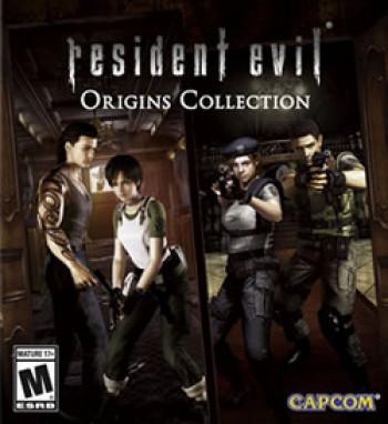 Capa de Resident Evil Origins Collection