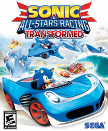 Capa de Sonic & All-Stars Racing Transformed