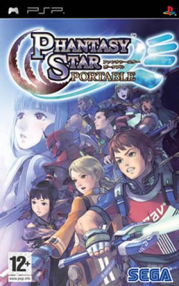 Capa de Phantasy Star Portable
