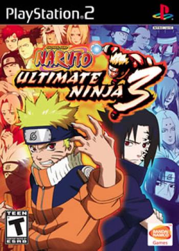 Capa de Naruto: Ultimate Ninja 3