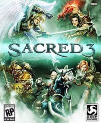Capa de Sacred 3