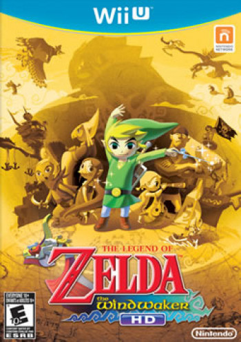 Capa de The Legend of Zelda: The Wind Waker HD