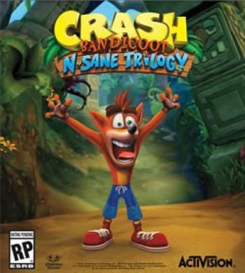 Capa de Crash Bandicoot N. Sane Trilogy