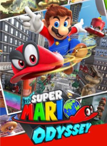 Capa de Super Mario Odyssey