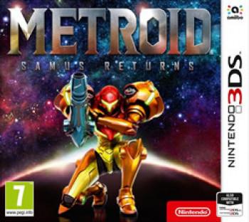 Capa de Metroid: Samus Returns