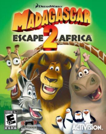Capa de Madagascar: Escape 2 Africa