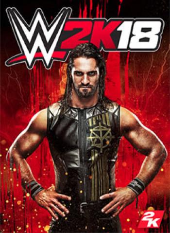 Capa de WWE 2K18