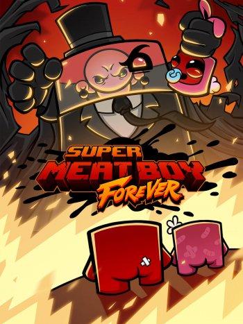 Capa de Super Meat Boy Forever