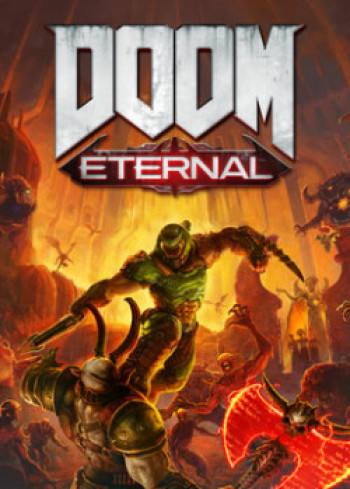 Capa de DOOM Eternal