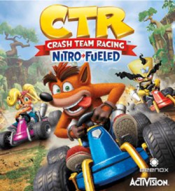 Capa de Crash Team Racing Nitro-Fueled