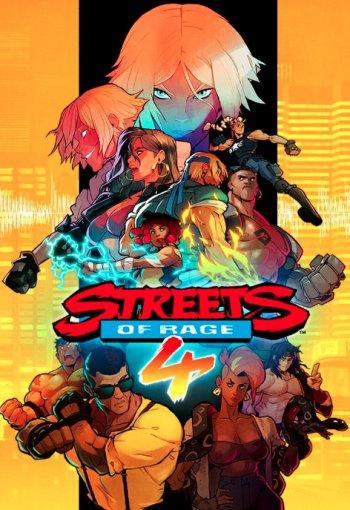 Capa de Streets of Rage 4