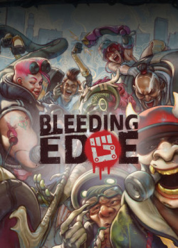 Capa de Bleeding Edge