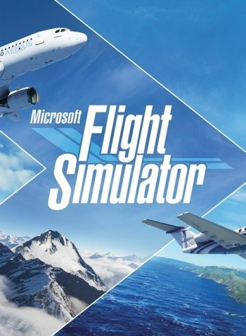 Capa de Microsoft Flight Simulator