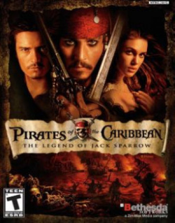 Capa de Pirates of the Caribbean: The Legend of Jack Sparrow