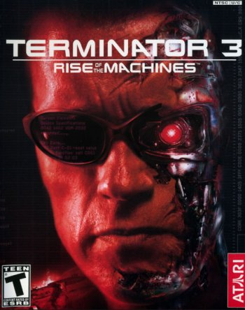 Capa de Terminator 3: Rise of the Machines