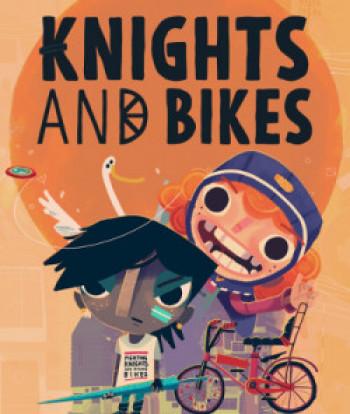 Capa de Knights and Bikes