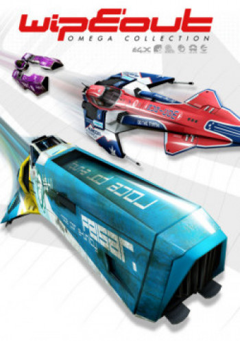 Capa de WipEout Omega Collection