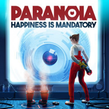Capa de Paranoia: Happiness is Mandatory