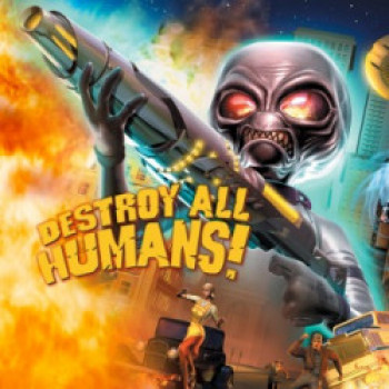Capa de Destroy All Humans!